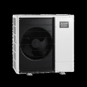 Ecodan R410a Ultra Quiet PUHZ Monobloc Air Source Heat Pump