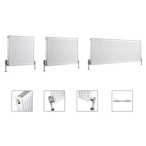 Milano Compact Type 11 Single Panel Radiator Multi Sizes Available