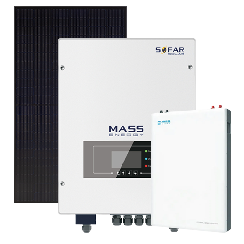 5.5kW Solar System 4.8kW Battery Storage System Package 9