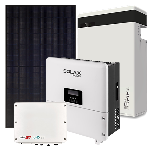 6.32kW Solar System 5.8kW Battery Storage System Package 5