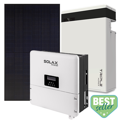 6.32kW Solar System 5.8kW Battery Storage System Package 6 1