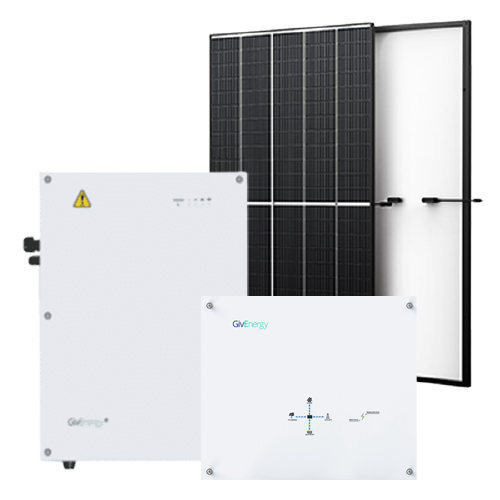 6.4kW Solar System 8.2kW Battery Storage System Package 7