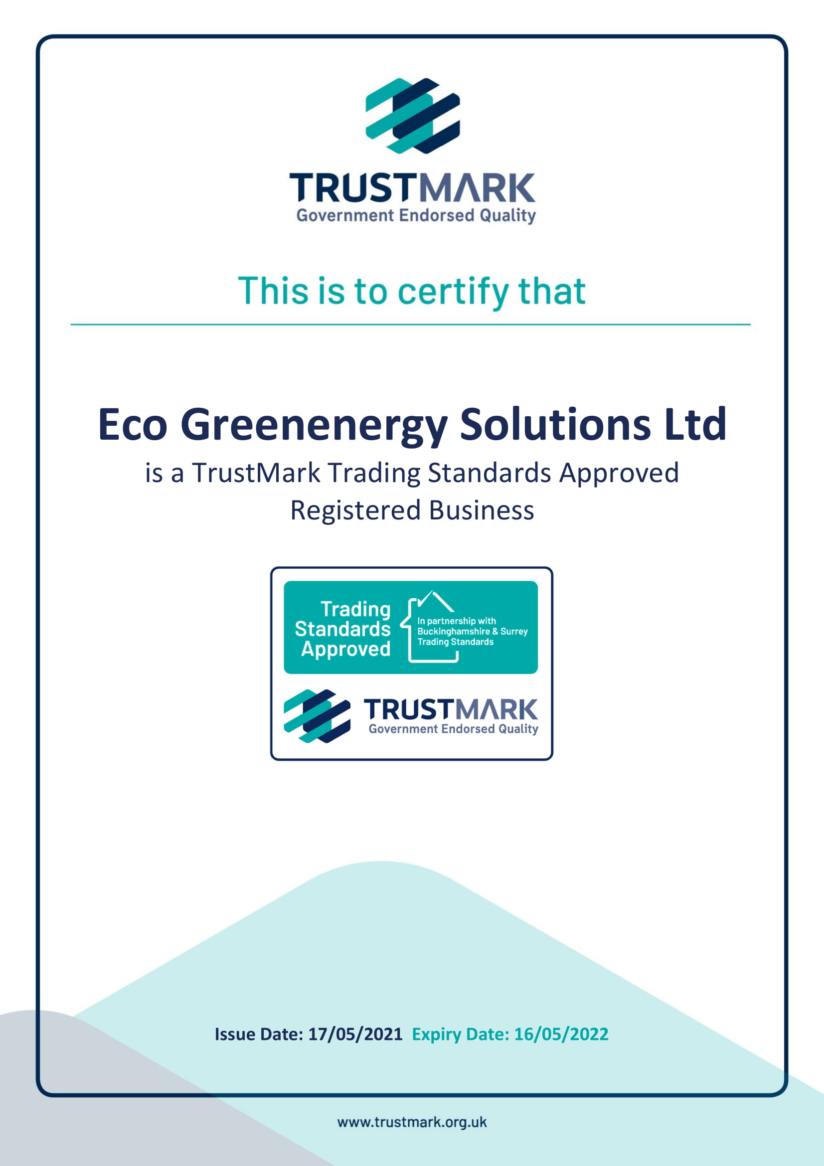 Eco Greenenergy Solutions Ltd 17052021 1