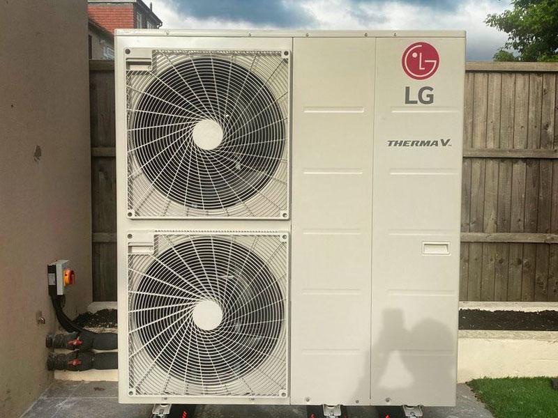 LG Thermal Heat Pump Installation in
